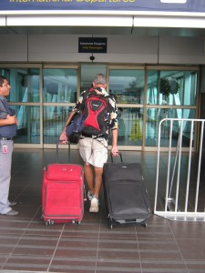 Ken Anderberg's 2 Bags and a Pack World Tour leaves Costa Rica