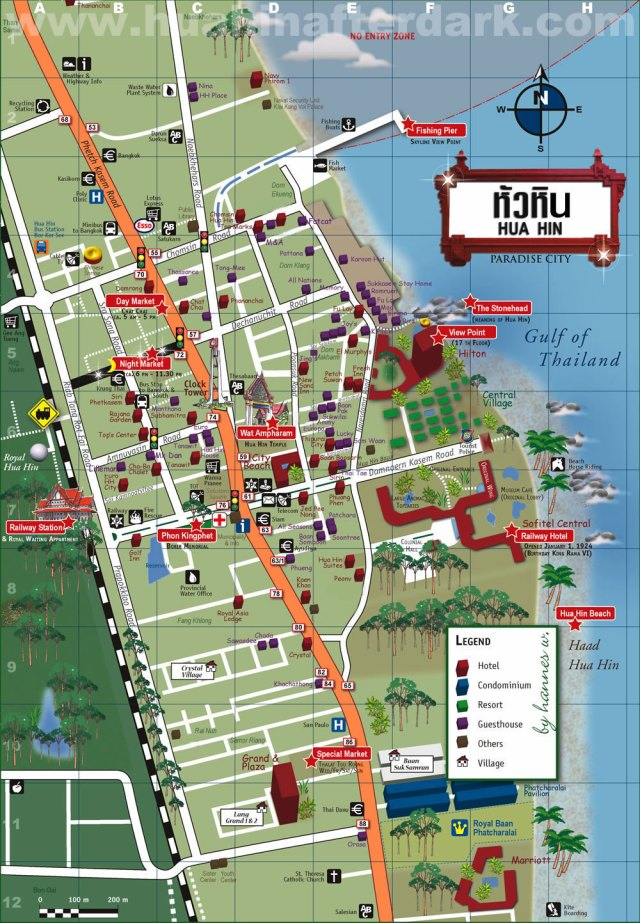 hua-hin-map