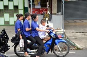 4 on bike