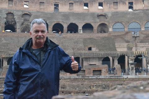 A lifelong dream - standing inside the Roman Coliseum - AWESOME!