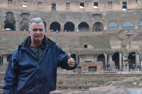 A lifelong dream - standing inside the Roman Coliseum - AWESOME!