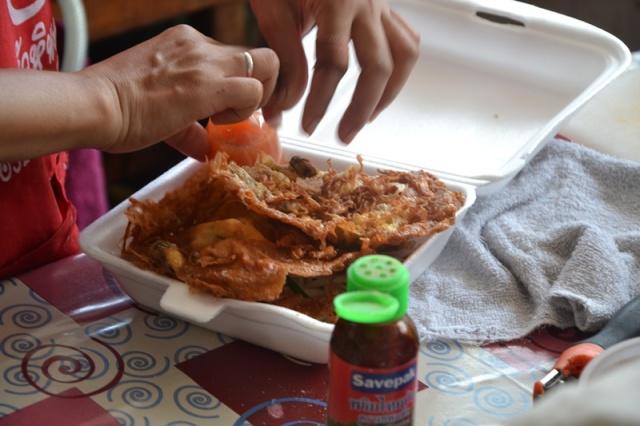 crispy fried mussels