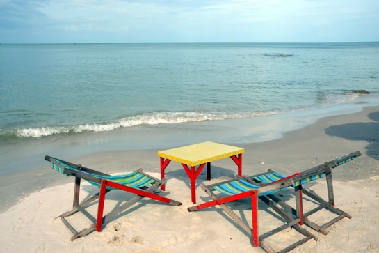 Bet you'd like to be here sipping a fruit/rum drink or a cold beer.