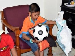A soccer ball!!